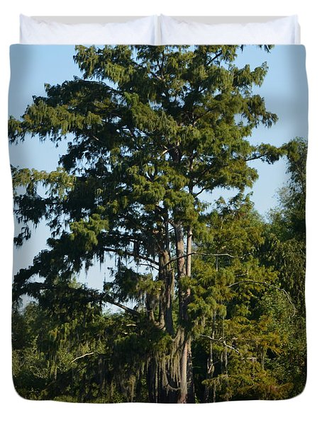 Atchafalaya Basin 11 Duvet Cover by Maggy Marsh
