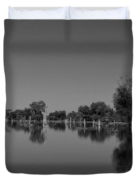 Atchafalaya Basin 15 Duvet Cover by Maggy Marsh