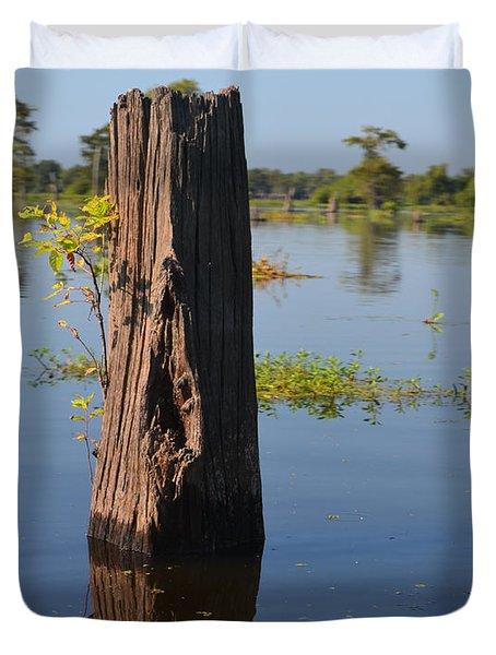 Atchafalaya Basin 22 Duvet Cover by Maggy Marsh