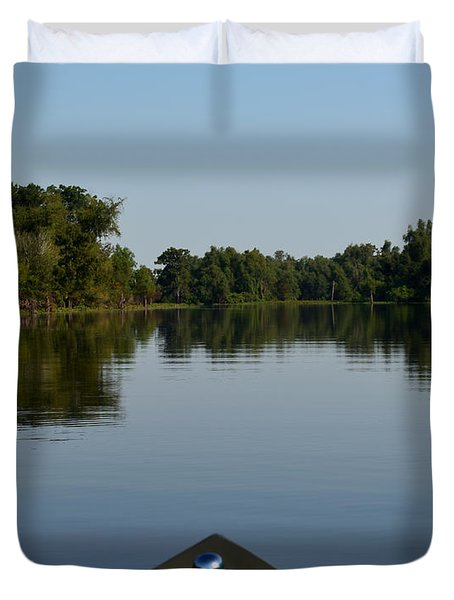 Atchafalaya Basin 6 Duvet Cover by Maggy Marsh