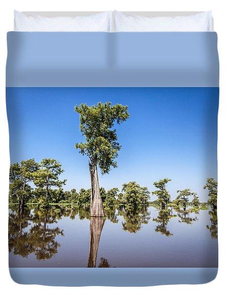 Atchafalaya Cypress Tree Duvet Cover