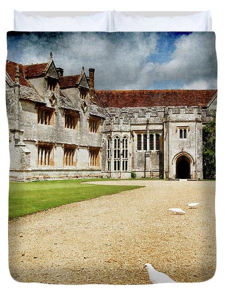 Athelhamptom Manor House Duvet Cover