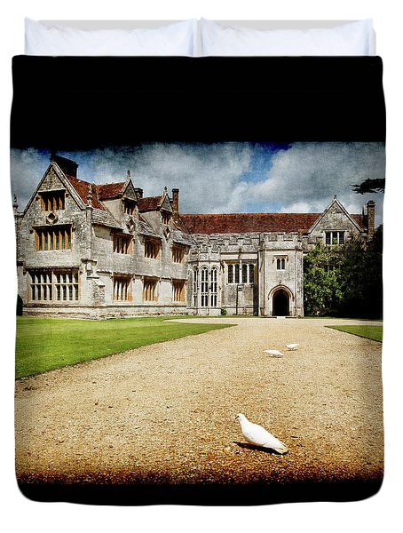 Athelhamptom Manor House Duvet Cover
