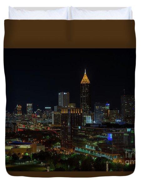 Atlanta Nights Duvet Cover