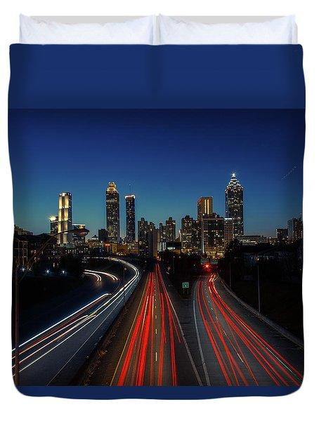 Atlanta Skyline 1 Duvet Cover