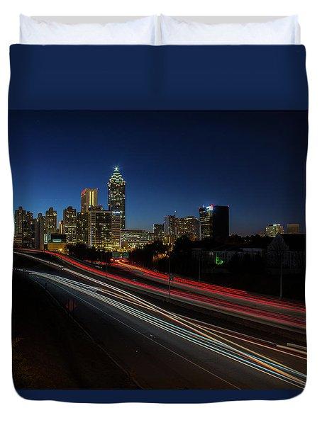Atlanta Skyline 2 Duvet Cover