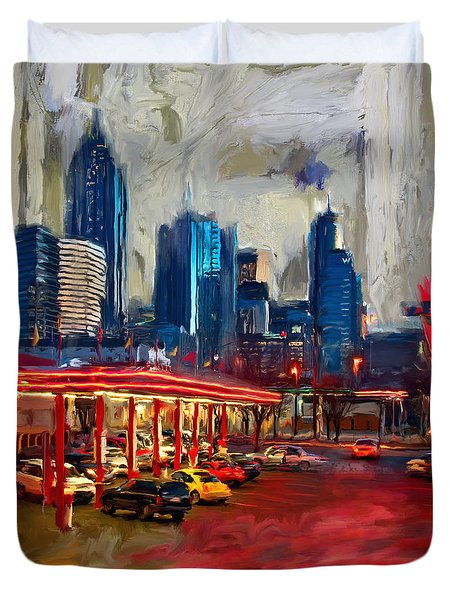 Atlanta Skyline 231 1 Duvet Cover