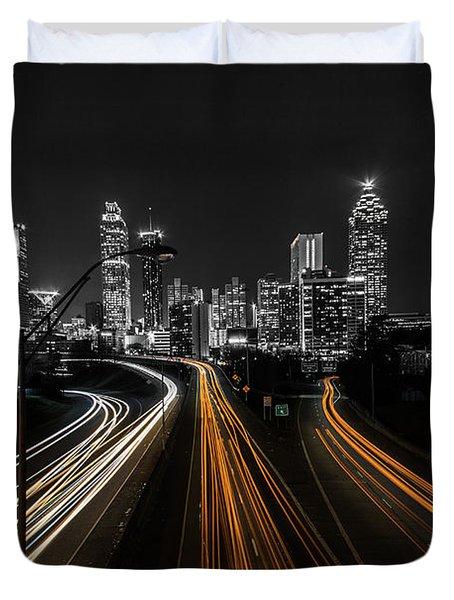 Atlanta Tones Duvet Cover
