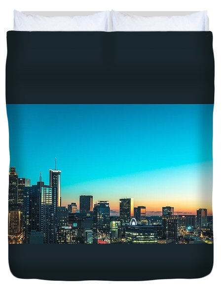 Atlanta Tonight Duvet Cover