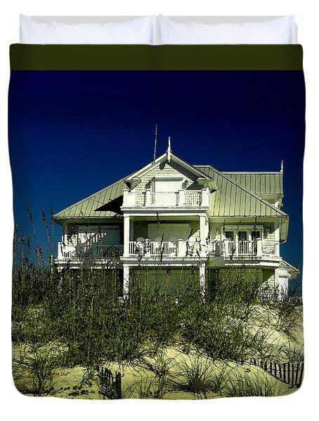 Atlantic Beach House Duvet Cover