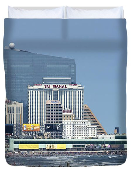 Atlantic City July 3 2015 Duvet Cover