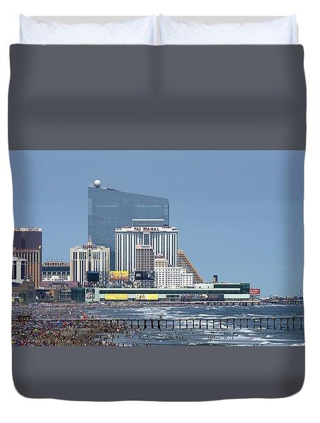 Atlantic City July 3 2015 Duvet Cover