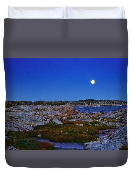 Atlantic Moon  Duvet Cover