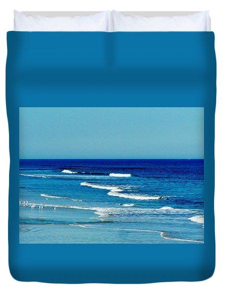 Atlantic Ocean Duvet Cover