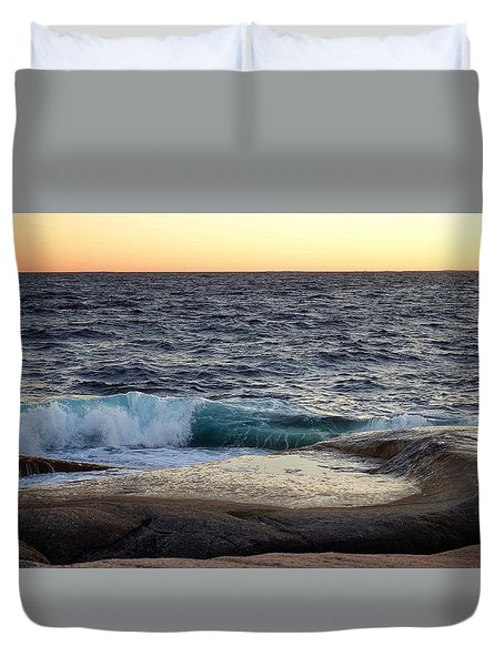 Atlantic Ocean, Nova Scotia Duvet Cover