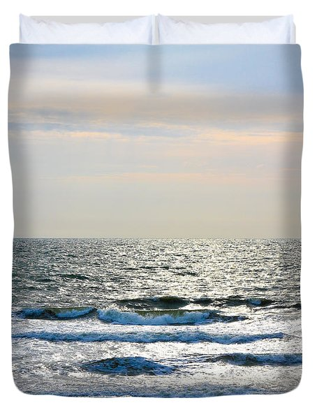 Atlantic Sunrise - Sandbridge Virginia Duvet Cover