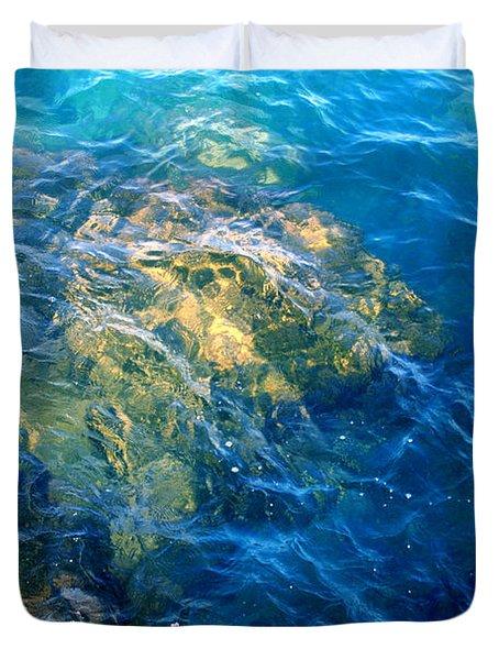 Atlantis Duvet Cover by Jamie Lynn