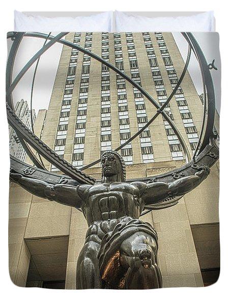 Atlas Rockefeller Center Duvet Cover