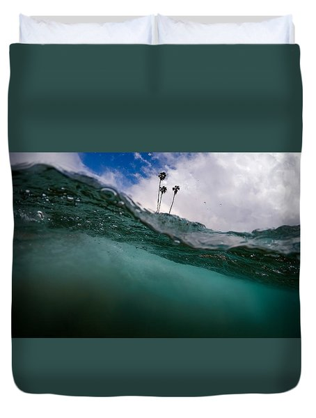 Atmospheric Pressure Duvet Cover