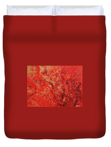 Atmospheric Red 201749 Duvet Cover by Alyse Radenovic
