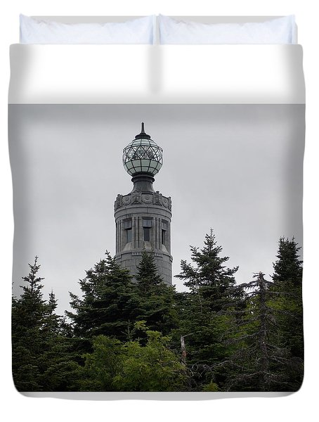 Atop Mount Greylock Duvet Cover by Catherine Gagne