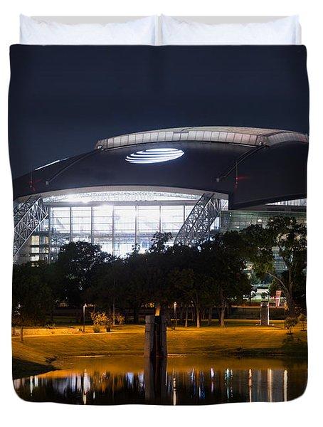 Dallas Cowboys Stadium 1016 Duvet Cover