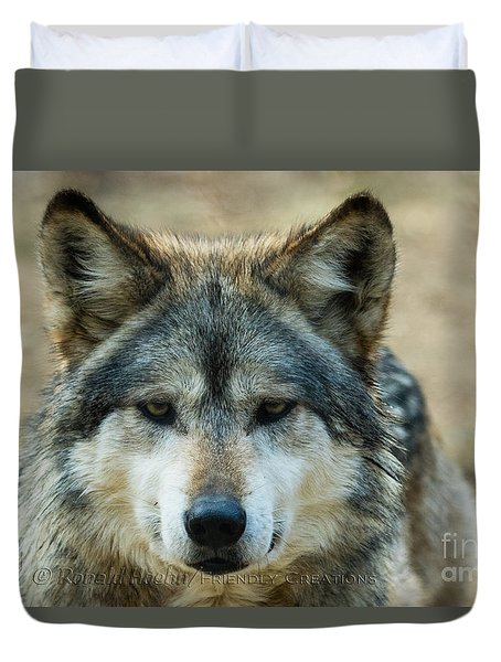Attentive Duvet Cover
