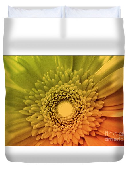Attitude Is Everything Duvet Cover