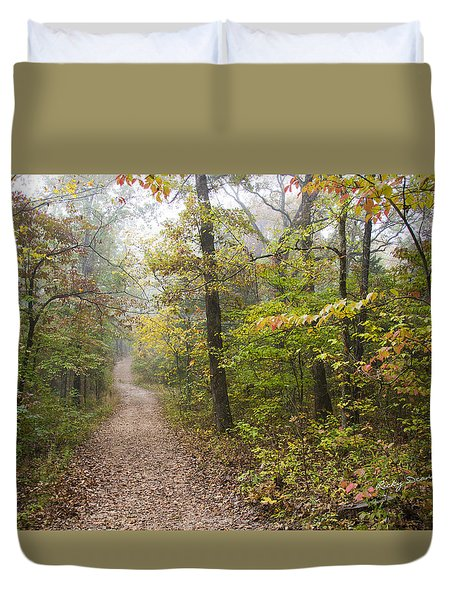 Autumn Afternoon Duvet Cover by Ricky Dean
