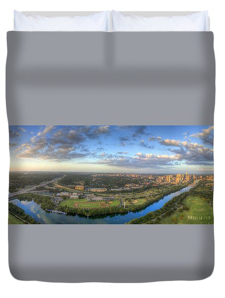 Austin Smile Duvet Cover
