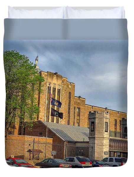 Auburn Correctional Facility Duvet Cover