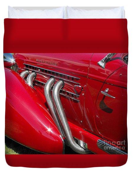 Auburn Speedster Duvet Cover