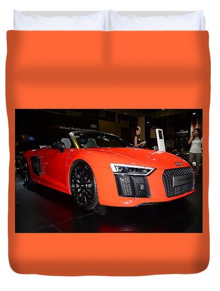 Audi R8 Duvet Cover