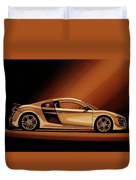 Audi R8 2007 Painting Duvet Cover