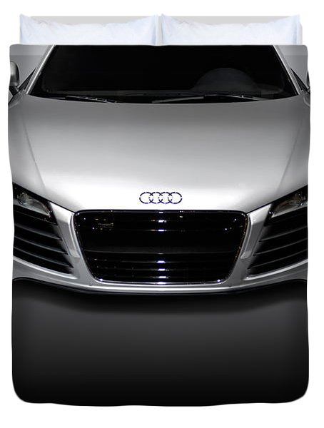 Audi R8 Sports Car Duvet Cover