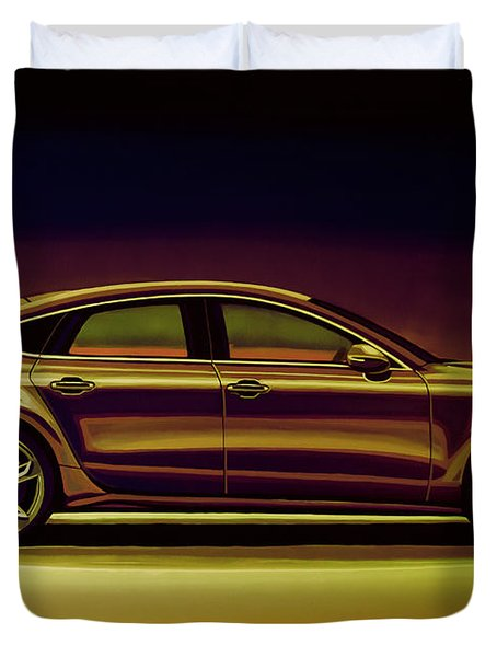 Audi Rs7 2013 Mixed Media Duvet Cover