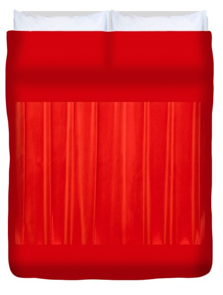 Auditorium Curtain Duvet Cover