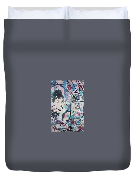 Audrey Chanel Duvet Cover