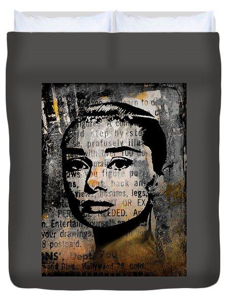 Audrey Hepburn #2 Duvet Cover