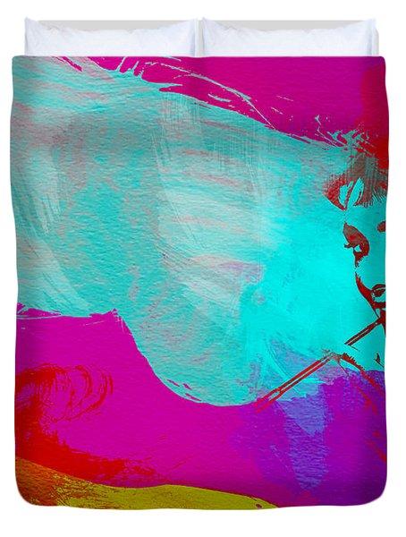 Audrey Hepburn Duvet Cover by Naxart Studio