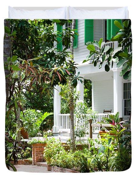 Audubon House Entranceway Duvet Cover