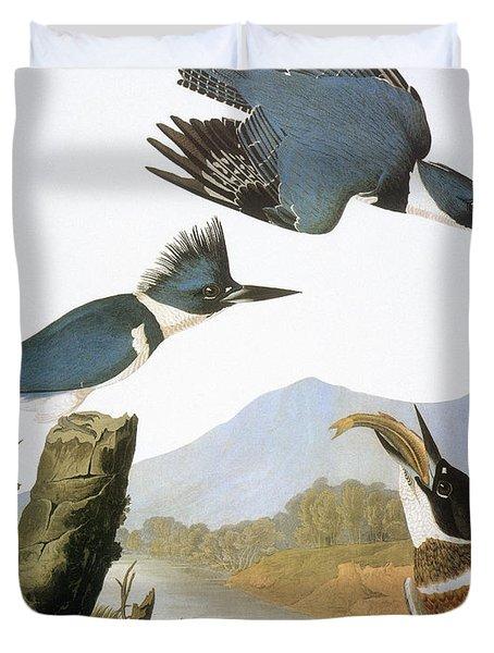 Audubon Kingfisher Duvet Cover