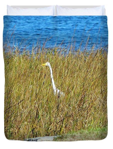 Audubon Park Sighting Duvet Cover