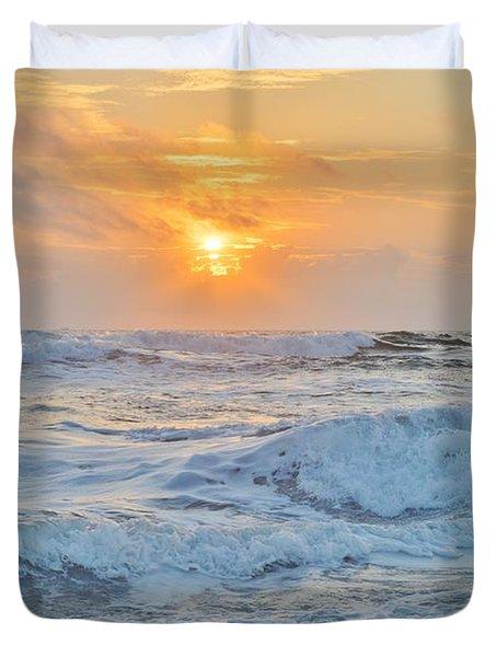 August 28 Sunrise Duvet Cover