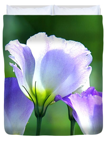 Duvet Cover featuring the photograph August Echoes by Byron Varvarigos
