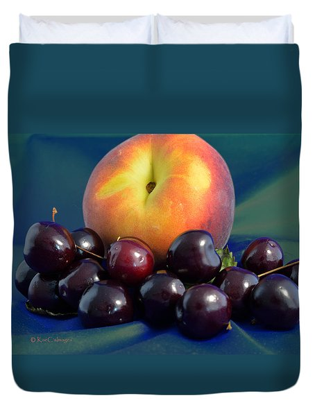August Fruits Duvet Cover