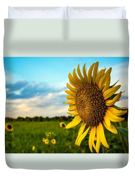 August Icon  Duvet Cover