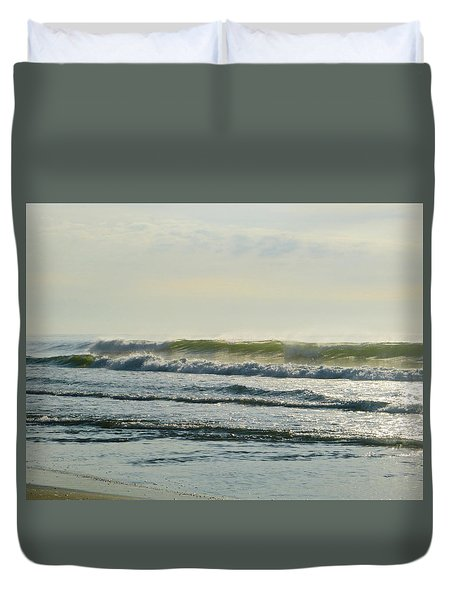 August Morning Light Duvet Cover