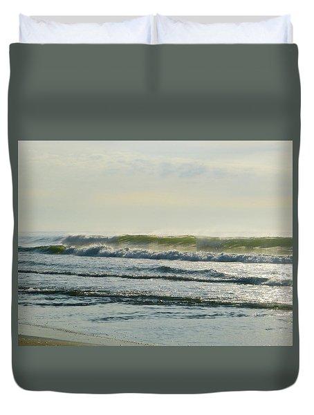 August Morning Light Duvet Cover