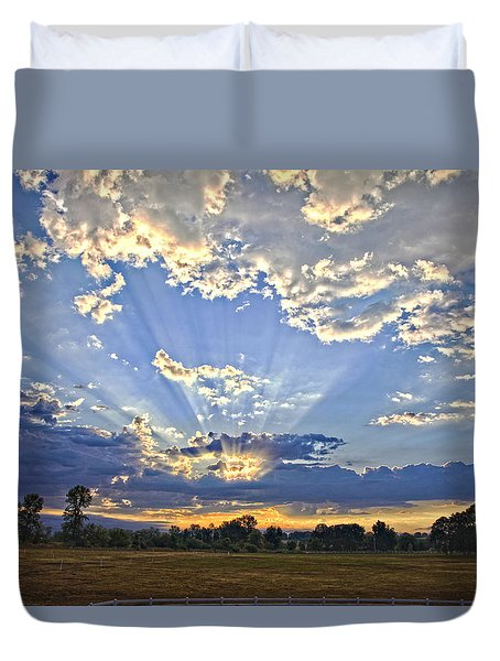 August Sunrise Duvet Cover